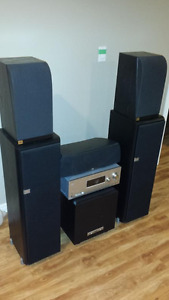 JBL Surround Speaker System and Sony Receiver