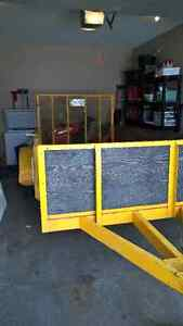 Solid, good condition 5 X 10 Utility trailer