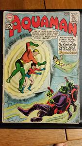 COMIC BOOKS- Aquaman #4 Aug. 1962