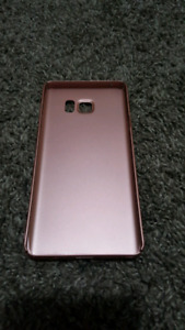Samsung Galaxy Note 5 case bumper cover rose gold