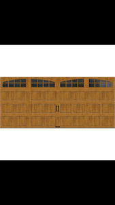 Brand New 8x14 Garage door