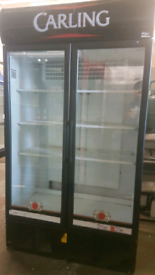 Cornelius commercial drinks display chiller fully working