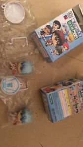 ANIME ONE PIECE AND KUROKO'S BASKET MINI FIGURES FOR SALE