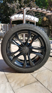 Winter tires and rims 245/40/r18