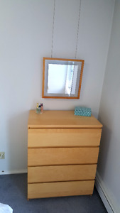 Dresser, 2 Bedside Tables and small Shelf for Sale