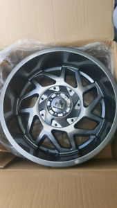 NEW 20X10 -19 5X139.7 5X150 MAYHEM RIMS