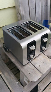 Stainless Steel Four 4 Slice Toaster