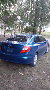 2012 Honda Civic 4 Dr beautiful shape!