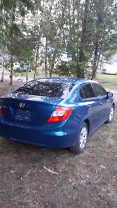 2012 Honda Civic 4 Dr beautiful shape!