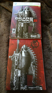 Gears of War 2 Limited Edition - Artwork & Steelbook