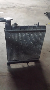 Radiator with Fan and Tubing for Hyundai Accent 00-05
