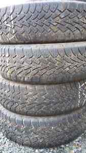 4 185 70 14 studded winter tires