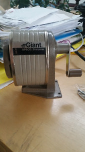 Vintage Pencil Sharpener Giant  APSCO by Berol for Wall or Table