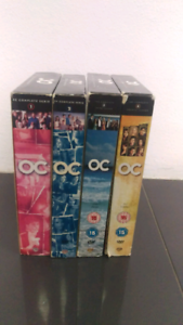 The OC season 1, 2, 3 and 4 DVD collection