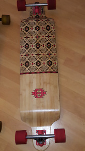 Globe Bannerstone Longboard skateboard excellent condition