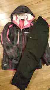 3 in 1  girls size 10-12 winter jacket and snow pants