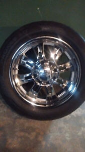Eagle Alloy Rims and Tires