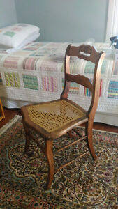 5 antique caned chairs Kingston Kingston Area image 1