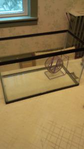 Small Glass Terrarium/Aquarium!