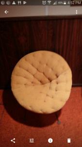 Retro 1970's chairs, couch, end tables
