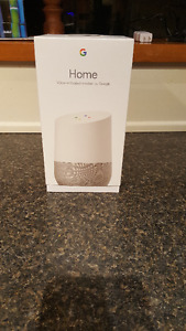 Google Home (Not available for purchase at Stores in Canada)