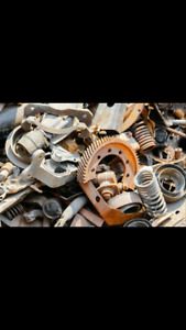 Fast free and friendly scrap metal removal service