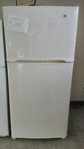 Réfrigérateur blanc glacé 30 pouces LG