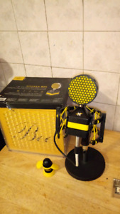 Worker bee solid state condenser microphone.
