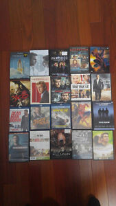 BLU-RAY AND DVD $5.00 EACH FIRM.   ALL 17 for $45.00.    HALIFAX