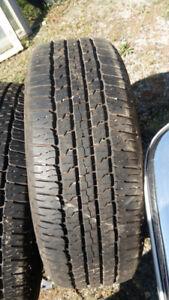 275/65/R18 Goodyear tires.
