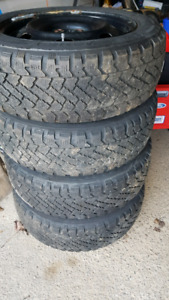 Winter tires and rims 205/55/16