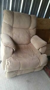 microfiber recliner chair delivery included
