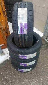 4 P235/45/17 Toyo Extensa HP all season tires installed