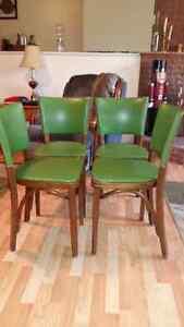 4 Retro kitchen/dining chairs
