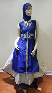 Costume made Indian dress