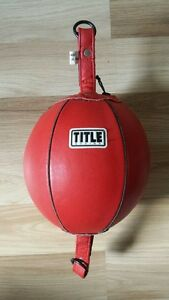 Title Double End Punching Ball