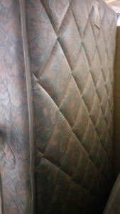 Queen mattress for 100$ ,Free delivery if close otherwise 40$. S
