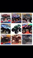 *WANTED* Monster Jam 1:64 scale trucks or any!!