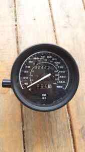 2003 BMW R1150RT speedometer