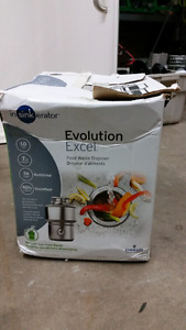 Food waste disposer brand new