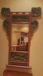 Antique Chinese Mirror 19th Century