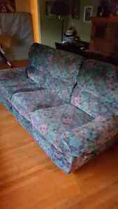 SOLD PPU Couch and swivel recliner