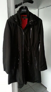 BLACK SPRING LADIES COAT