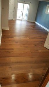 Flooring and tile installations