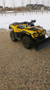 Can-Am Outlander 800 with blade