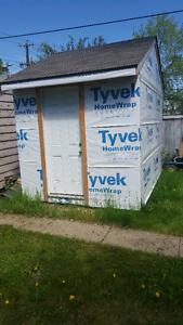 8ft x 12ft shed