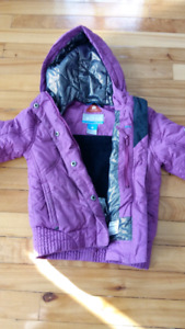 Manteau hiver fille columbia 4-5 ans