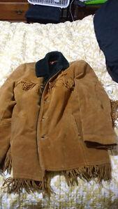 Native deer hide jacket