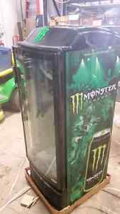 Monster drink fridge
