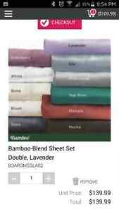 Quilts Etc. BAMBOO sheets